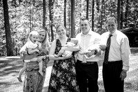 Connor & Myles' Christening B&W